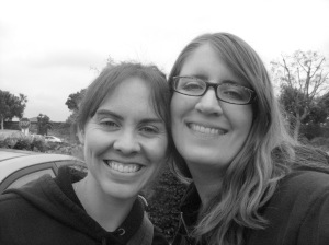 Me w/ my longtime friend & pen-pal Sabine! We've always been there for each other over the 12+ years of our friendship!